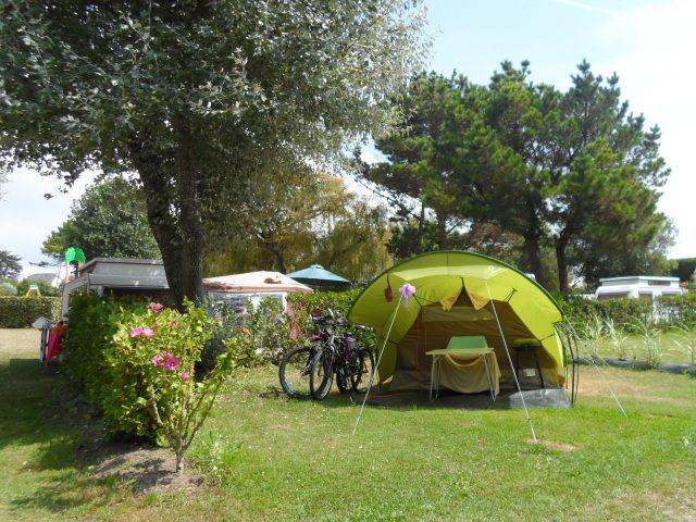 emplacement tente camping les grands sables
