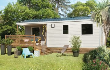 New mobilehome with terrace