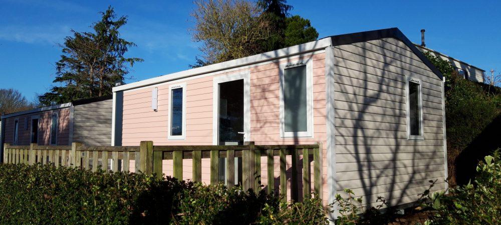 mobil-home neuf Le Pouldu, camping Les Grands Sables