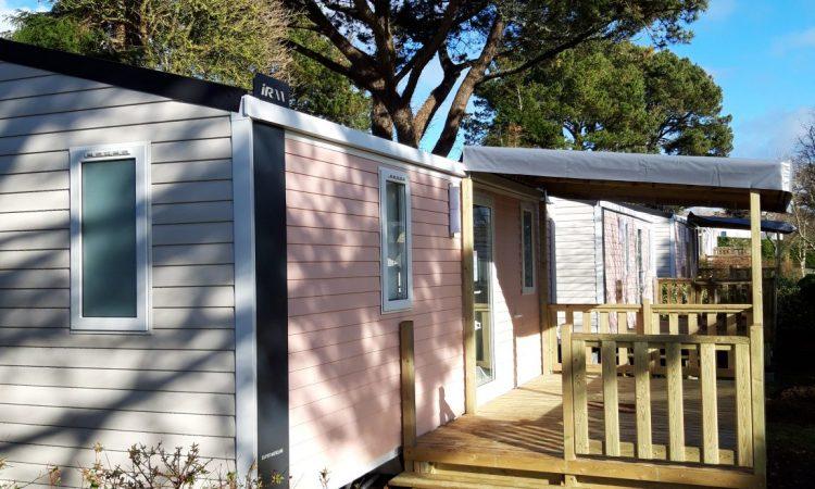 New mobilehome Super Mercure campsite Les Grands Sables Le Pouldu